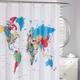 Rideau de douche en tissu « Global »