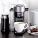 Machine Nespresso «Evoluo» graphite avec Aeroccino par Delonghi