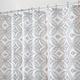 Rideau de douche en tissue « Vintage Tile »