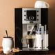 Machine à espresso et à cappuccino « Perfecta » noire par Delonghi