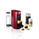 Machine à capsules «VertuoPlus» rouge par Nespresso pour Delonghi