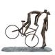 Décor « Couple on Bike »
