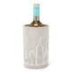 Rafraîchisseur à vin en ciment avec motif
