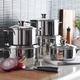 Batterie de cuisine J.A. Henckels International «Biarritz» 10 pièces