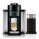 Machine à café à capsules Nespresso «Evoluo» noire avec Aeroccino 3 par Delonghi