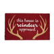 Tapis « Reindeer approved »