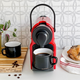 Machine à capsules Nespresso «Inissia» rouge par Breville