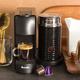 Machine à capsules Nespresso « Essenza Mini » noire avec Aeroccino par Breville