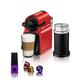 Machine à capsules Nespresso «Inissia» rouge avec Aeroccino par Breville