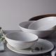 Ensemble de vaisselle Ellen DeGeneres 16 pièces «Taupe Stripe» pour Royal Doulton