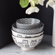 Bols et assiettes« Kiri » en porcelaine par Torre & Tagus