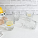 Verres collection « Diamond » par Bormioli Rocco