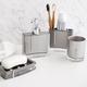 Accessoires de salle de bain collection «Crystal»