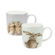 Collection de chopes « Wrendale Designs » par Royal Worcester