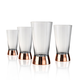 Ensembles de 4 verres collection « Coppertino »