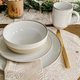 Ensemble de vaisselle Ellen DeGeneres 16 pièces «Brushed Glaze» par Royal Doulton