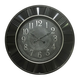 Horloge antique noir et argent par Standa Home Furnishings