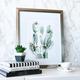 Cadre et illustration « Cactus »