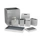 Accessoires de salle de bain « Slate » par Kassatex