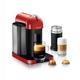 Machine à capsules Nespresso « Vertuoline » rouge avec Aeroccino par Breville