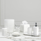 Accessoires de salle de bain « Foglia » par Kassatex