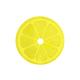 Napperon rond en PVC « Lemon »