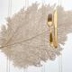 Napperon en PVC « Metallic Leaf »