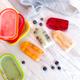 Ensemble de 4 moules à sucettes glacées superposables « Lékué »