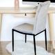 Chaise de salle à manger en velours « Heaven »