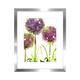 Cadre et illustration « Alliums »