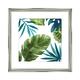 Cadre et illustration «Tropical II»