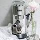 Machine à espresso et à cappuccino Delonghi « Dedica DeLuxe » acier inoxydable