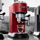 Machine à espresso et à cappuccino Delonghi «Dedica DeLuxe» rouge