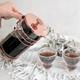 Cafetière à piston Grosche « Madrid» - 8 tasses
