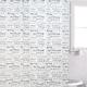 Rideau de douche «H2O» par Famous Home Fashions