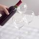 Ensemble de 4 verres à vin«Silhouette»