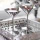 Verre à martini en acier inoxydable