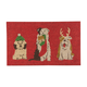 Paillasson «Holiday Pups»
