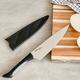 Couteau de chef avec gaine Kai «Luna» 20,3 cm
