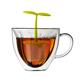 Ensemble à thé 2 pièces «Floral» par Brillant