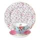 Ensemble d'accessoire à thé « Vintage Mix » par Royal Albert