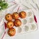 Moule à 12-muffins en silicone «Confetti» par Trudeau