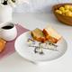 Assiette à gâteau sur pied«Wrendale»par Royal Worcester