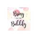 Serviettes à cocktail «Bring On The Bubbly»