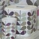 Boîte à mouchoirs mauve « Colourful Vines »