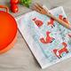 Textiles pour cuisine collection «Foraging Fox»
