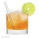 Ensemble de pailles à cocktail par Final Touch