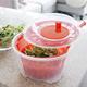 Essoreuse à salade rouge 4,4 L