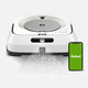 Vadrouille-robot iRobot « Braava Jet m6 » avec connexion Wi-Fi