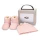 Boîte-cadeau chaussons et bonnet pour bébé UGG « Jessie II »